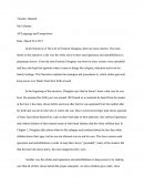 Fedrick Douglass Analysis Essay