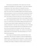 My Philosophy - Personal Essay