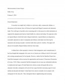 Microeconomics Course Project - Flawed Statements