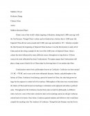 Chinese Films - Midterm Research Paper