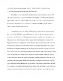 A Reaction Paper on the Movie Philadelphia